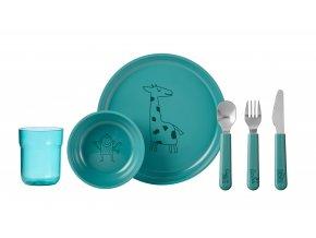 Mepal Dětská jídelní sada Mio 6 ks Turquiose