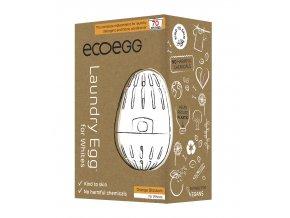 Ecoegg Pracie vajíčko na biele prádlo Pomaranč 70 praní