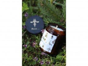 Z Lesa Sviečka proti komárom a hmyzu Bzzz ... 180 ml
