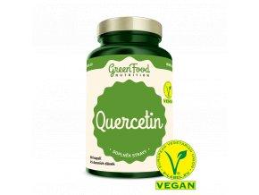 GreenFood Quercetin Vegan 90 kapslí