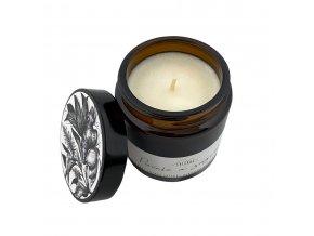 Svíčkuj Ručně vyráběná svíčka Pačuli a zázvor 120 ml