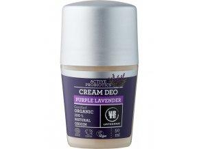 Urtekram Deodorant roll on krémový levanduľa bio 50 ml