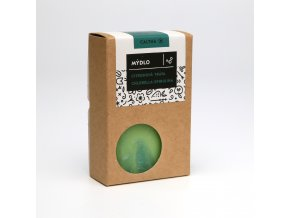 Caltha Mydlo citrónová tráva, chlorella a spirulina 100g