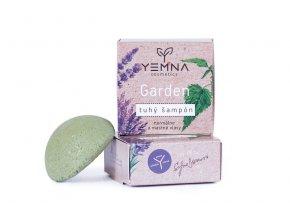 Yemna Garden kopřivový tuhý šampon s přesličkou 55 g