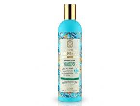 Natura Siberica Rakytníkový šampon pro všechny typy vlasů 400 ml