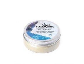 Soaphoria Prírodné krémový dezodorant Soapgasm Muž 50 ml
