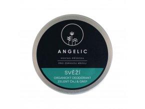 Angelic Svieži organický dezodorant zelený čaj & grep 50 ml