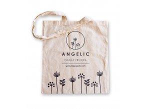 Angelic Bavlnená nákupná taška