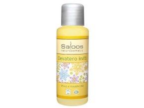 Saloos Telový a masážny olej Deväť kvetov 50 ml