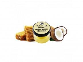Ťuli aŤuli Prírodný balzam na pery včelí kokos 20ml