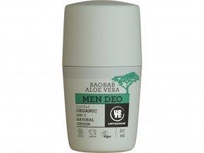 Urtekram Men krémový dezodorant s aloe a Baobab BIO 50 ml