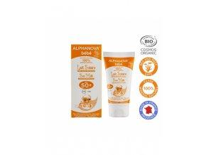 Alphanova SUN Opaľovací krém pre bábätká SPF 50 50 ml BIO