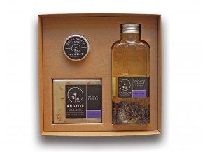 Darčeková krabička Angelic Sprchové olejové Cuvée Levanduľa