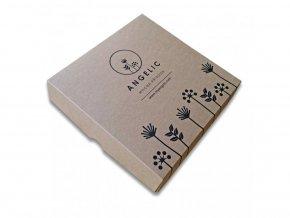 Darčeková krabička Angelic Kúpeľová soľ Levanduľové upokojenie