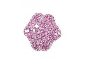 Slipovka bavlna Drobné květy