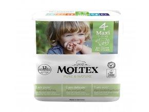 Moltex Pure & Nature Dětské pleny Maxi 7-18 kg 29 ks