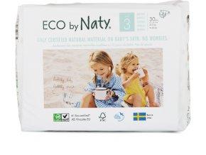 Eco by Naty Babycare Midi 3 4-9 kg 30 ks