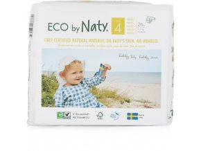 Eco by Naty Babycare Maxi 4 7-18 kg 26 ks