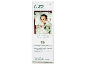 Naty Nature Babycare Sáčky na plenky bez vůně (50 ks)