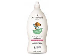 Attitude Prostriedok na umývanie detských vecí bez vône 700 ml