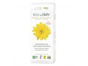Eco by Naty Dámské ECO vložky Super s kridélkami 13 ks