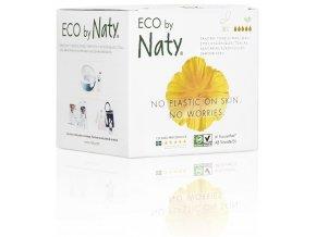 Eco by Naty Dámske ECO vložky Nočné 10 ks