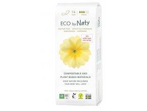 Eco by Naty Dámske ECO vložky Normal 15 ks