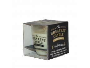 The Greatest Candle Vonná sviečka v skle 130g Klinčeky a škorice