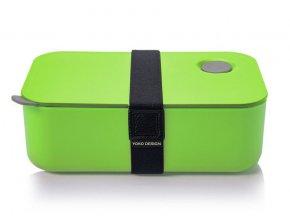 Yoko Design Box na jedlo zelený