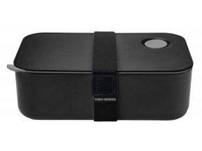 Yoko Design Box na jedlo čierny