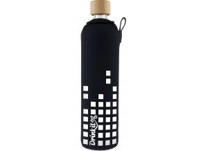 Drinkit Sklenená fľaša s neoprénovým obalom Equalizer 500ml
