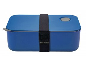 Yoko Design Box na jedlo modrý