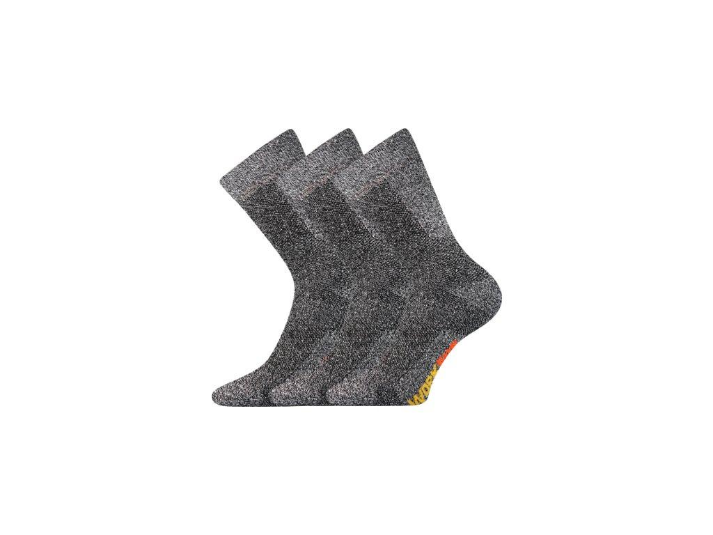 Pracovní Ponožky VoXX Pracan muline 3 páry v balení - FoltynTextil.cz 18a825ea8f