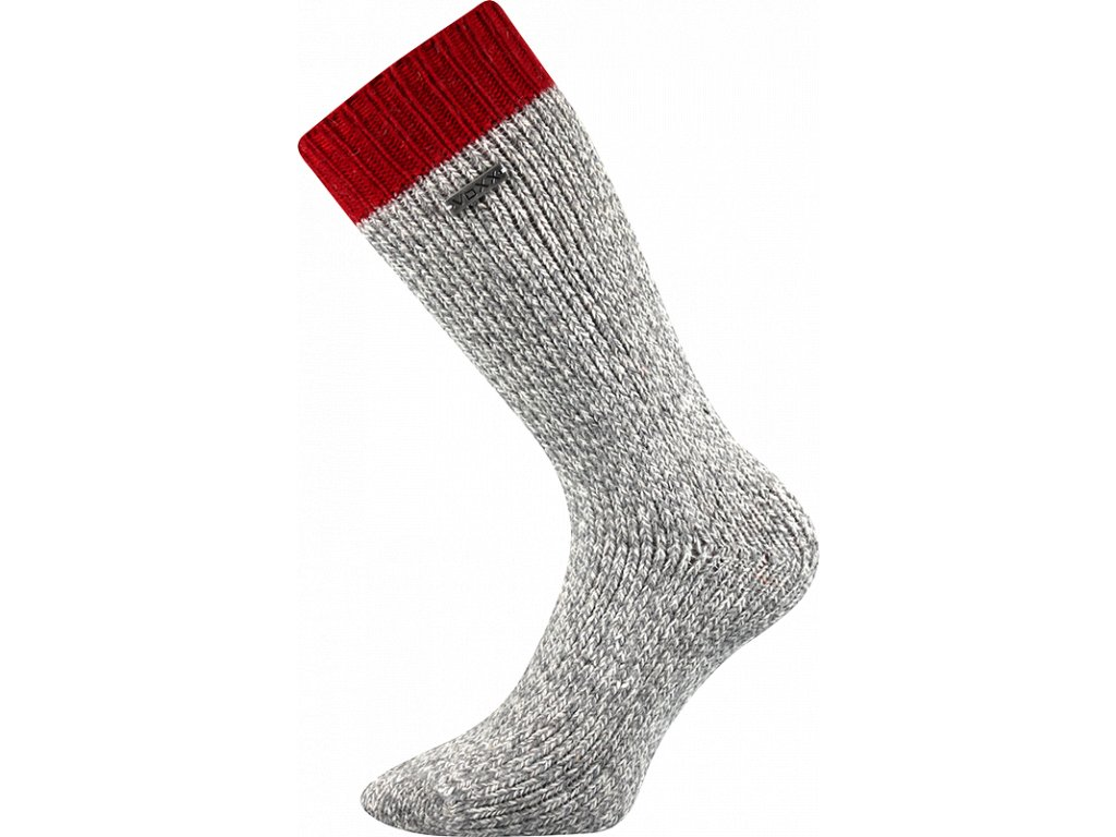 Froté Ponožky VoXX Haumea červená - FoltynTextil.cz 4c29289667