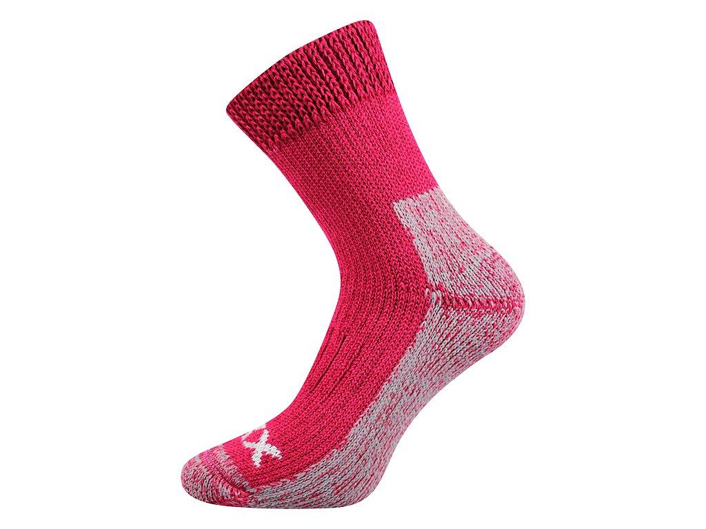 Froté Ponožky VoXX Alpin Růžová - FoltynTextil.cz 4f8509a5ed