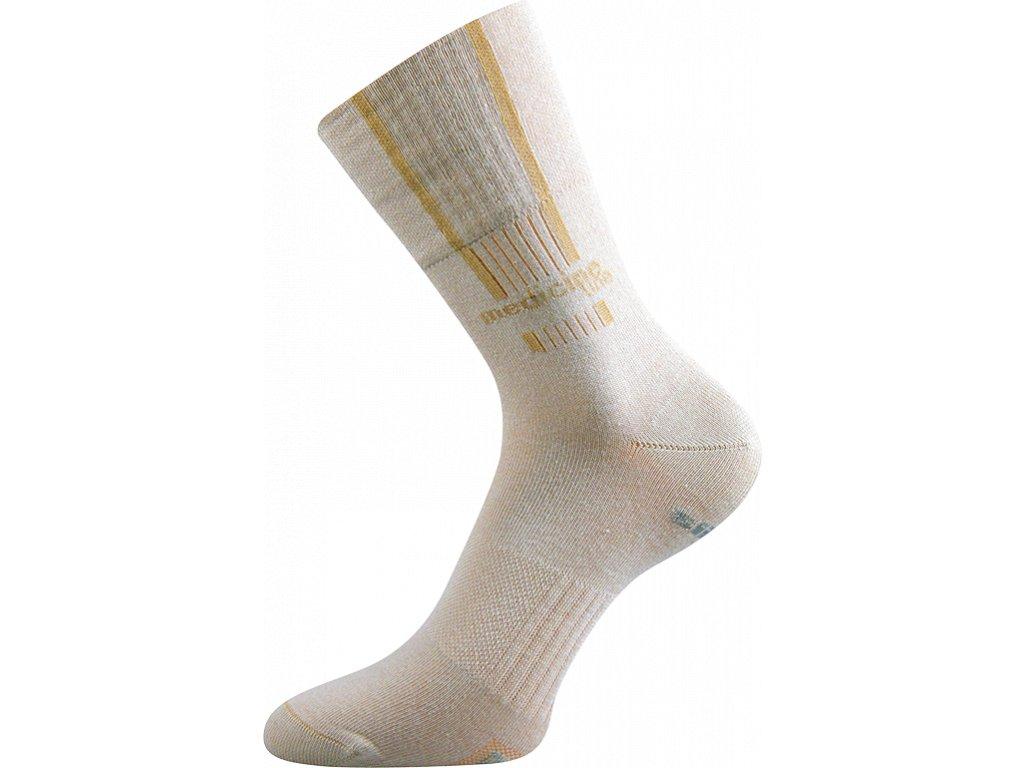 Zdravotní Sportovní Ponožky VoXX Mission béžová - FoltynTextil.cz a816671d67