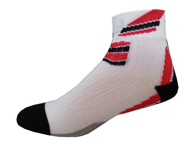 Sportovní Ponožky NOVIA Sport Collection Total červená