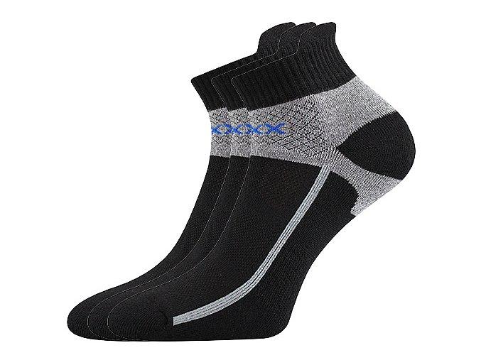 Sportovní Ponožky VoXX Glowing černá
