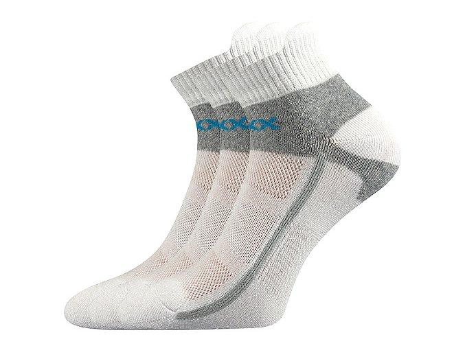 Sportovní Ponožky VoXX Glowing bílá