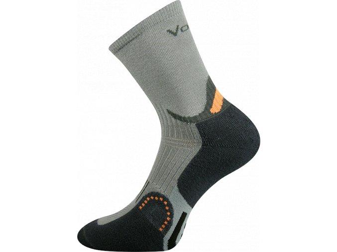 Sportovní Ponožky VoXX Actros světle šedá
