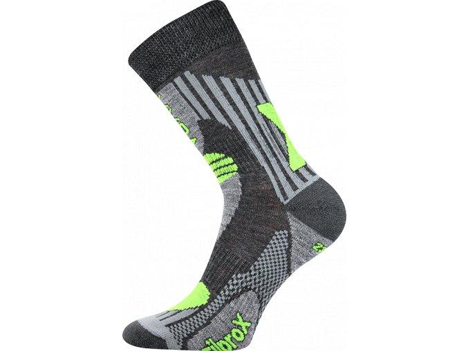 Sportovní Ponožky VoXX Vision tmavě šedá