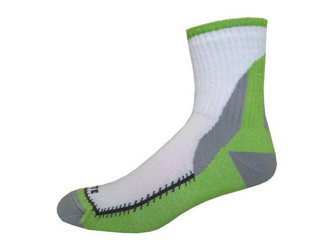 Sportovní Ponožky NOVIA Skate zelená