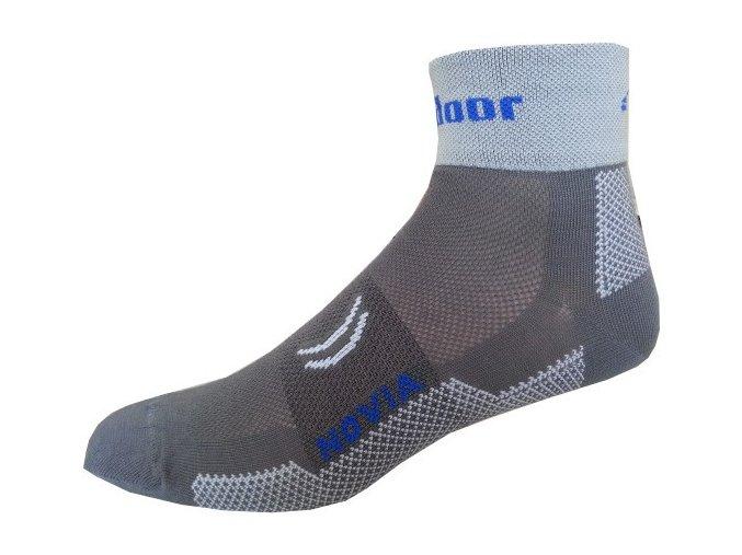 Sportovní Ponožky Novia Sport Collections Outdoor šedá