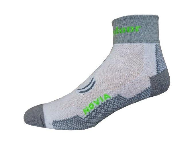 Sportovní Ponožky Novia Sport Collections Outdoor Bílá