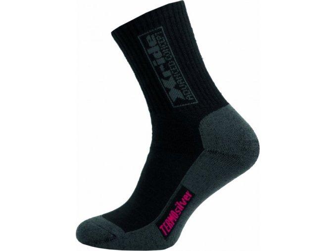Sportovní Ponožky NOVIA Silvertex Xride 02 černé