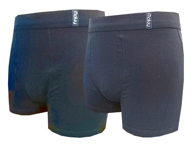 Pánské Boxerky MOLVY 2 kusy v balení KP041BEU