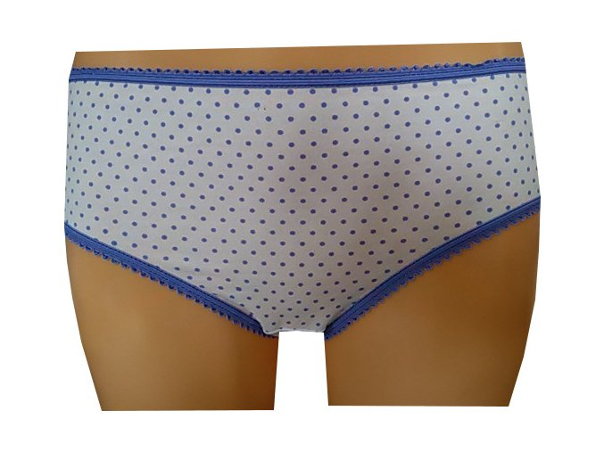 Dámské kalhotky MOLVY MD-791 MEU modrý puntík