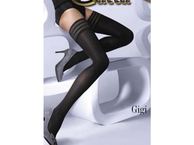 Punčochy samonosné GATTA GIGI 01 60 DEN