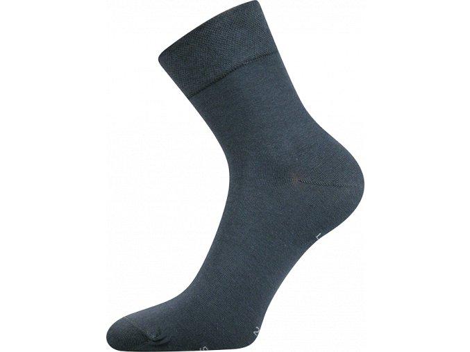 Zdravotní ponožky Lonka HANER Tmavě Šedá
