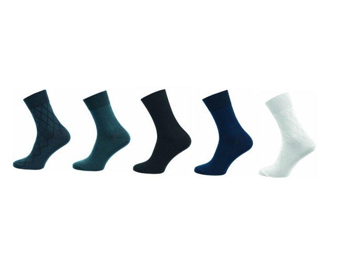 Pánské ponožky Novia 5 párů v balení LUX